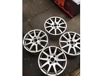 """16"""" Nissan alloy wheels"""