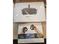 Oculus Rift and Touch Controllers - Brand New