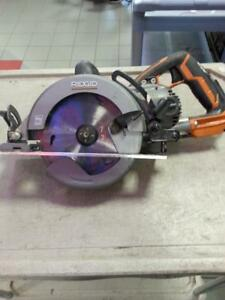 Ridgid 7 1/4 in Worm Drive Saw. (14418) We sell used power tools!