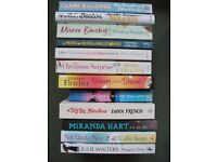 Lot of 12 Books including Giovanna Fletcher, Jenny Colgan, Miranda Hart and Dawn French novel humour