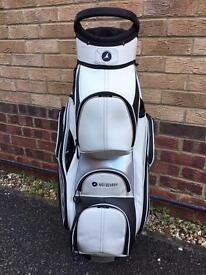 Motocaddy premium leather golf bag
