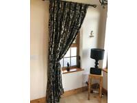 Hallway Curtains and Furniture