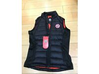 mens canada goose gilet body warmer slim fit sizes s-xxl