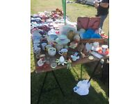Car boot stall
