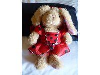 Build a Bear rabbit dressed as a Ladybird VGC - Shipley