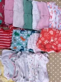 Bundle of clothes 3-6 months
