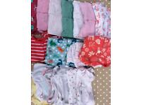 Bundle of clothes 3-6 months