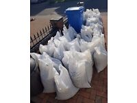 50+ bags of 20mm stone - bins not included - £50