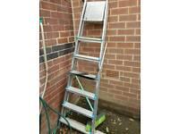 Beldray 6 steps aluminium folding ladder