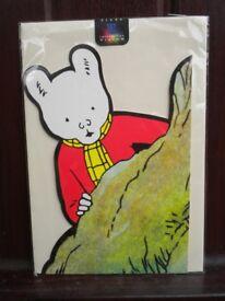 Rupert The Bear Memorabilia (6 item lot)