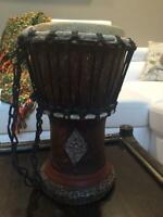 African Djembe drum better known as jembe