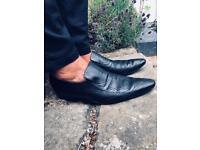 Gucci Loafers Snake Skin Slip ons UK10
