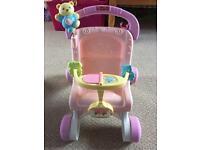 Fisher price baby walker pushchair