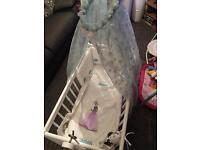 Baby crib custom frozen