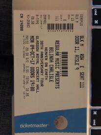 Belinda Carlisle - 9th Oct 7pm Glasgow Royal Concert Hall - 1 ticket face vale