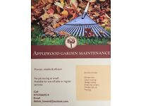 Applewood garden maintenance/handyman/Anything from grass cutting to kitchen fitting