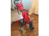 Smart Trike Recliner - Red