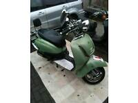 Tamoretti retro 50cc moped scooter 2011 very low milage fully running