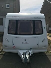 4 berth fixed bed with motor mover