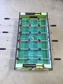 Wooden Table top Football Table Game. Excellent condition. Torquay. £20.