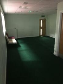 Offices to rent on a long term basis.