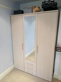 Vancouver wardrobe & bedside cabinet £170 ono