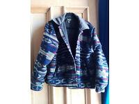 Aztec print vintage jacket M/L