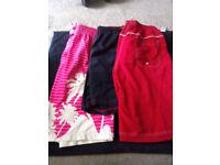 3x Pairs of Swim Shorts Size- Medium