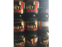 BN&S Gold Standard Whey 5lbs 2.24kg-all flavours, free same day delivery in east London+free shaker