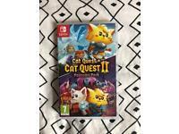 Nintendo switch cat quest