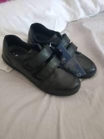boys school shoes brand new.