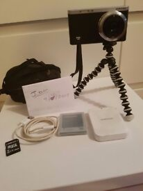Samsung Nx Mini , Mirrorless vlogging digital camera. Flip touch screen, Wifi, New extras included
