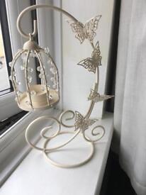 Candle holder (butterflies)