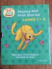 Phonics and First Stories books (Levels 1-3)