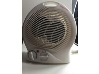Portable fan heater and mist diffuser ideal for Winter