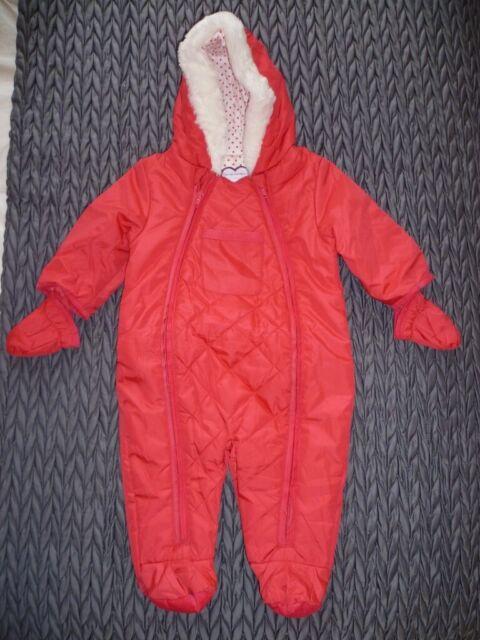 3d03bec48647 Stunning M S Baby Girl Snow suit Pram suit -3-6 months