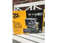 JCB 16v lithium Combi Drill with hard case and 119 piece accessory kit rrp£150 New in box