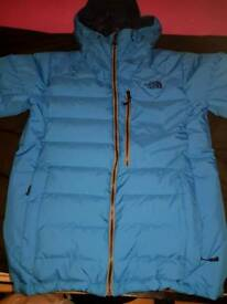 Mens North face Jacket, (Steep series, Wind stopper 700).