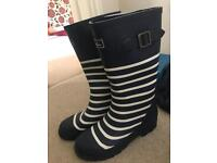 Joules welly boots, size uk 5 new