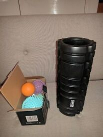 Foam Roller for Muscle Massage and massage balls