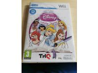 Disney princess drawing CD for Wii. Requires Udraw game tablet. New & sealed in its original cover