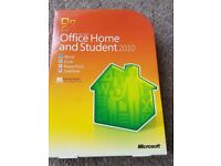 Used but in Excellent condition Microsoft Office home and student 2010