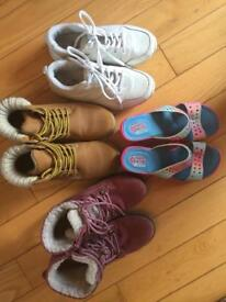 Kids shoes, Next, M&S, Sketchers used