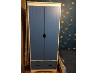 Boys Blue Cupboard for Sale Good condition