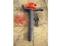 Flymo Twister 2000. Powerful leaf / garden blower, vacuum, shredder