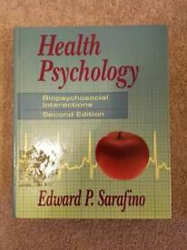 Health Psychology - Biopsychosocial Interactions 2nd Edition - Edward P. Sarafino