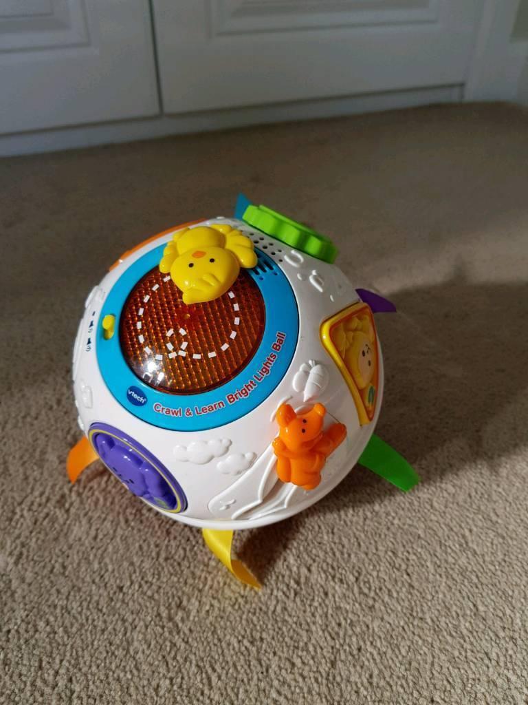 Vtech crawl & learn bright lights ball