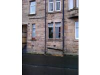 Ground floor studio in Paisley. Suit quiet living, employed person. (SORRY No DSS)