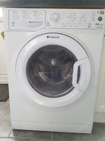 Hotpoint WDAL8640P washer dryer 8kg 1400rpm