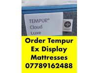 We Sell Affordable Tempur Ex Display Mattress and Electric Beds